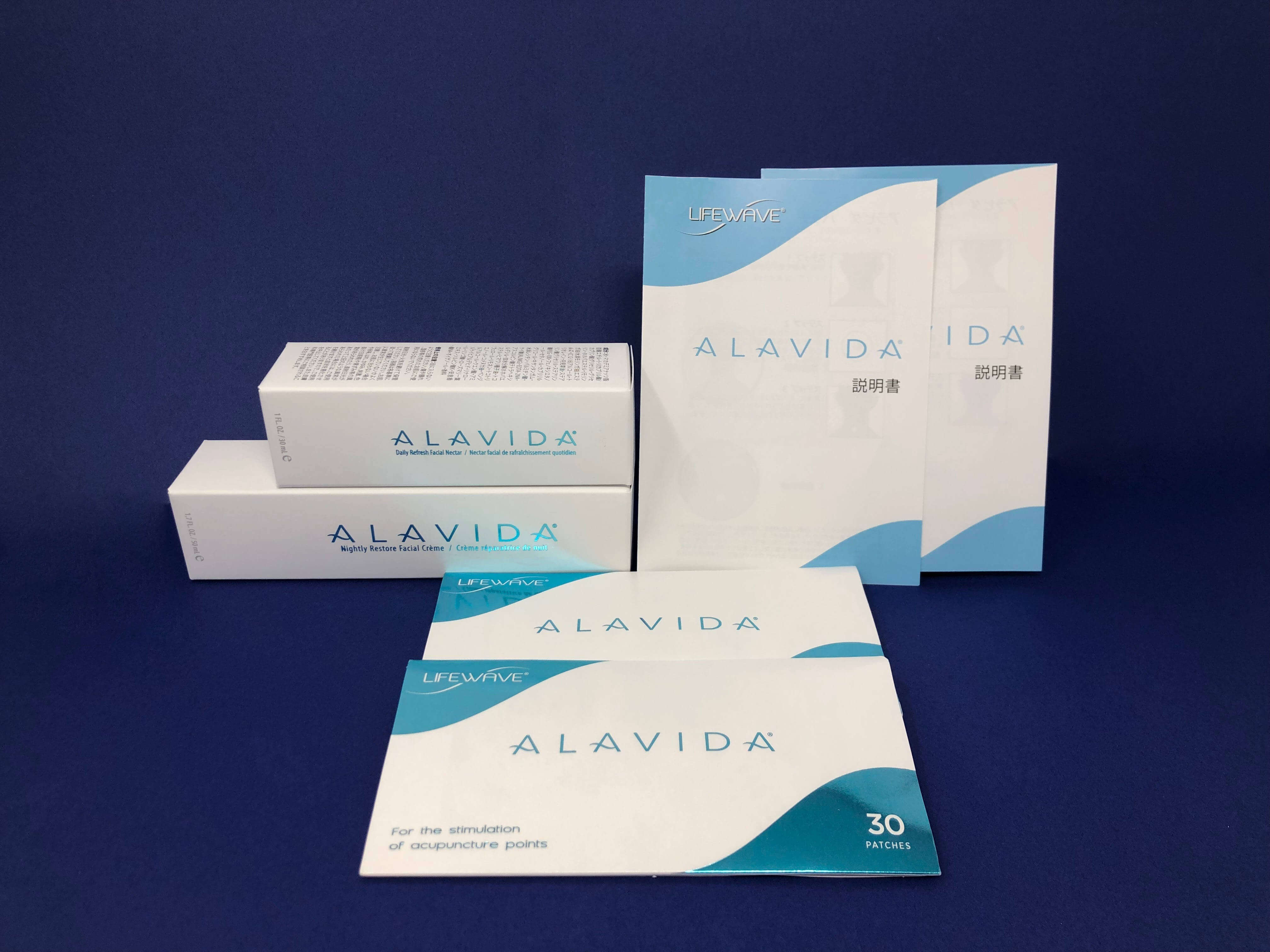 LIFEWAVE ライフウェーブ ALAVIDA Regenetating Trio アラビダ リジェネレーティング トリオ